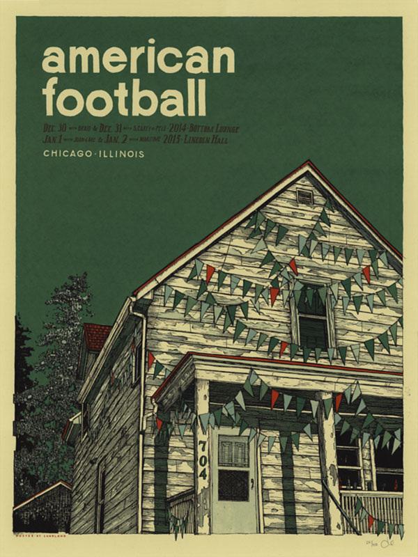 american football chicago landland